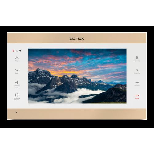 Видеодомофон Slinex SL-10IPT gold/white