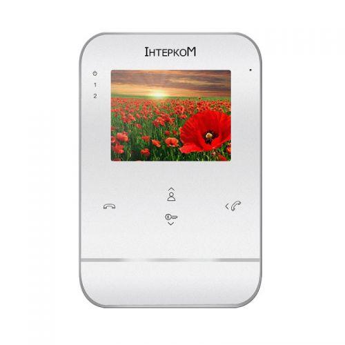 Цветной видеодомофон Iнтерком IM-01L White