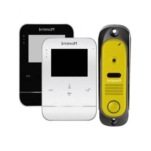 Комплект видеодомофона Intercom IM-11 white/black