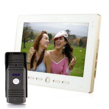 Комплект видеодомофона interVision KCV-A1010-MC90