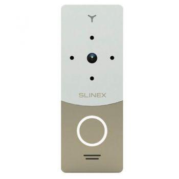 Вызывная видеопанель домофона Slinex ML-20IP v2 Gold+White