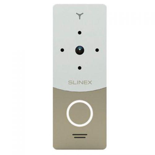 Вызывная видеопанель домофона Slinex ML-20 IP Gold+White