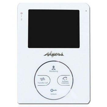 Видеодомофон Myers M-44SD White