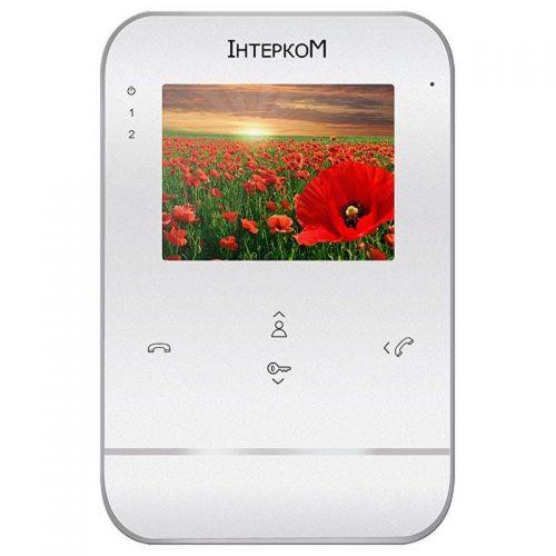 Видеодомофон Intercom IM-01 White