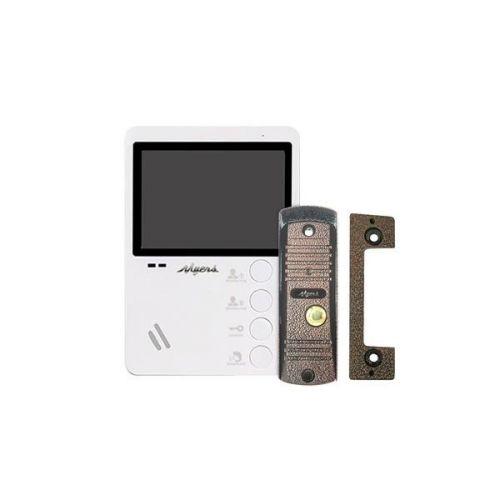 комплект видеодомофона Myers M-43 White + D-100C