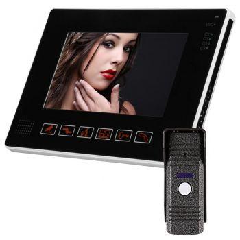 Комплект видеодомофона interVision KCV-A394SD-MC90