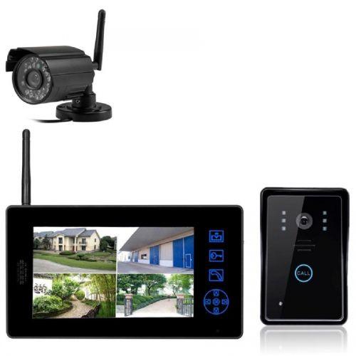 Комплект беспроводного видеодомофона interVision KIT-DOOR2