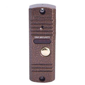 Вызывная видеопанель домофона CoVi Security V-42 Bronze