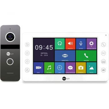 Комплект видеодомофона NeoLight MEZZO HD / Solo FHD Graphite