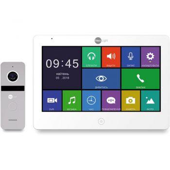 Комплект видеодомофона NeoLight OMEGA+ HD / Solo FHD Silver