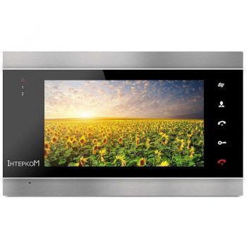 Видеодомофон Intercom IM-02 silver/black