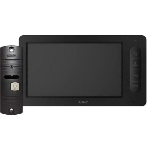 Комплект видеодомофона ARNY AVD-7005 black
