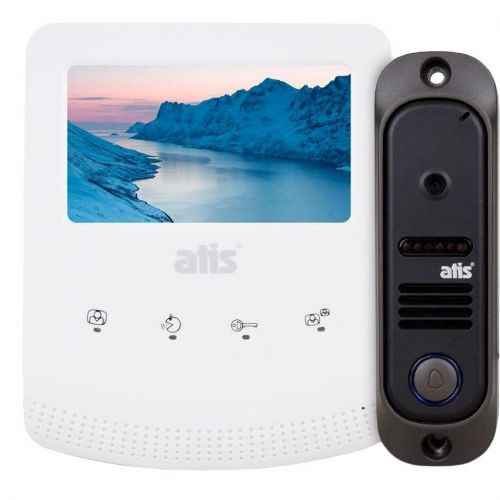 Комплект видеодомофона ATIS AD-430W Kit box