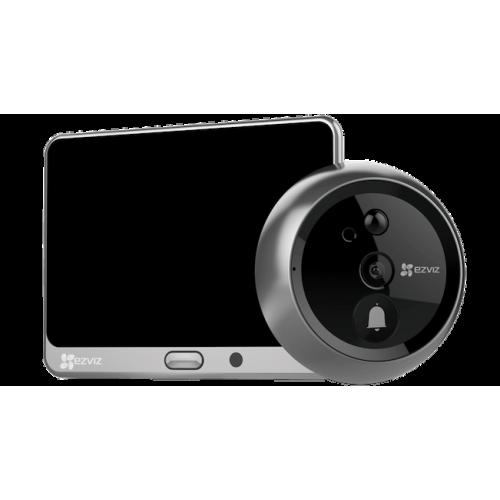 Автономный видеоглазок EZVIZ CS-DP1-A0-4A1WPFBSR Silver