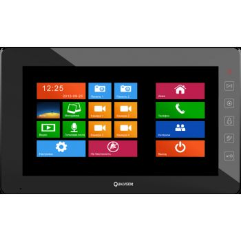Видеодомофон Qualvision QV-IDS4A05 (black)