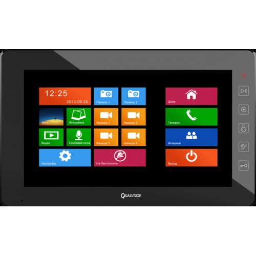 Видеодомофон Qualvision QV-IDS4A05 (black)