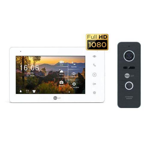 Комплект видеодомофона Neolight NeoKIT HD PRO Black