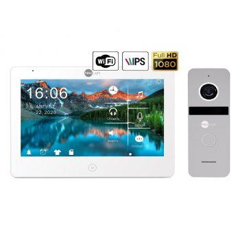 Комплект видеодомофона Neolight Mezzo HD WF и Neolight Solo FHD (Graphite/Silver)