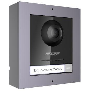 Комплект модуля вызывной IP панели + накладная рамка Hikvision DS-KD8003-IME1/Surface