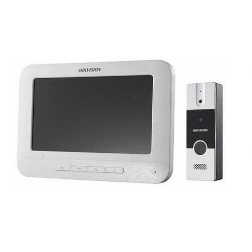 Комплект домофон + вызывная панель Hikvision DS-KIS204