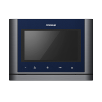 Видеодомофон Commax CDV-70M blue+gray