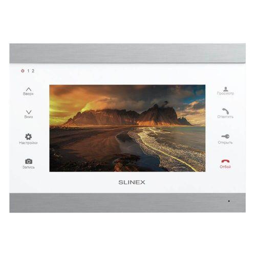 IP-видеодомофон Slinex SL-07IPHD (silver+white)