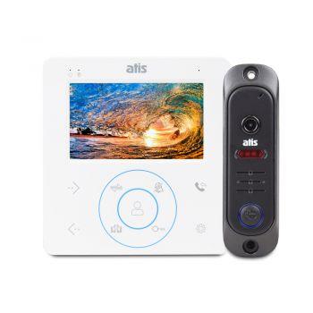 Комплект видеодомофона ATIS AD-480 W Kit box