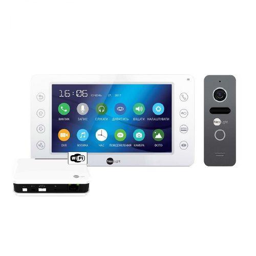 Комплект видеодомофона NeoLight Kappa+ WiFi Box