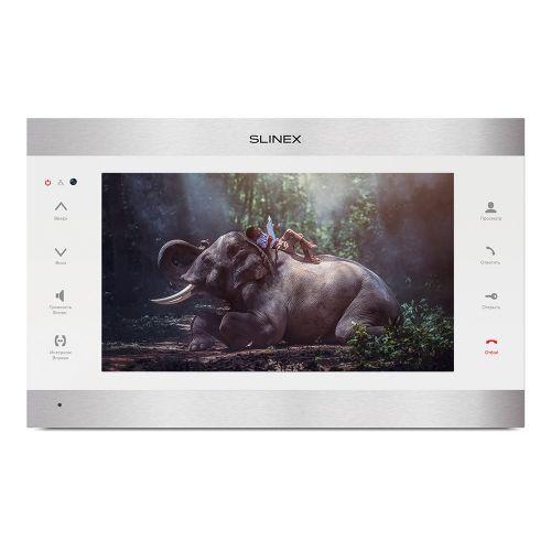 IP-видеодомофон Slinex SL-10IPT FHD (silver + white)