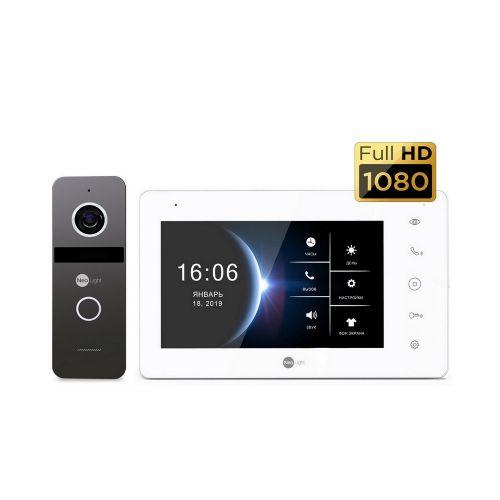 Комплект видеодомофона NeoLight NeoKit HD Graphite