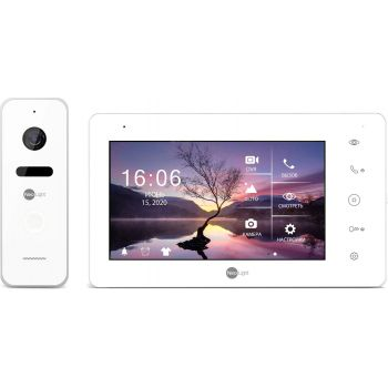 Комплект видеодомофона Neolight NeoKIT HD+ White