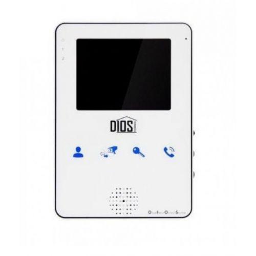 Видеодомофон DIOS DS-104 white