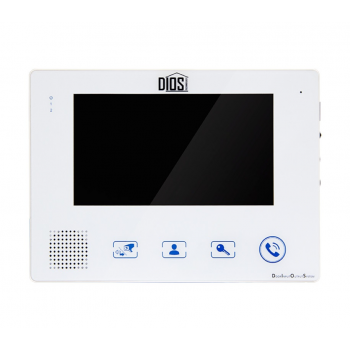 Видеодомофон DIOS DS-107 white