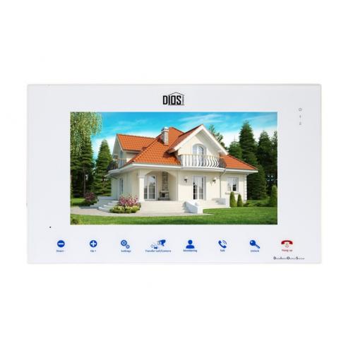 Видеодомофон DIOS DS-110 white