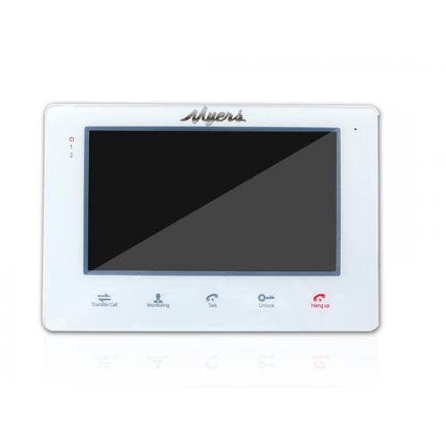 Видеодомофон Myers M-72SD White