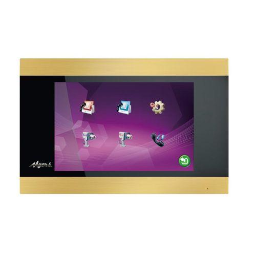Видеодомофон Myers M-75SD Touch Gold