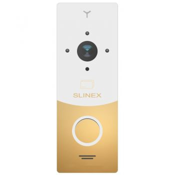 Вызывная видеопанель домофона Slinex ML-20CR gold/white