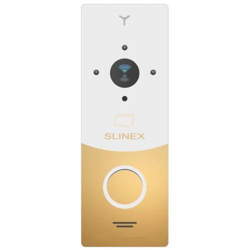 Вызывная видеопанель домофона Slinex ML-20CR gold/white