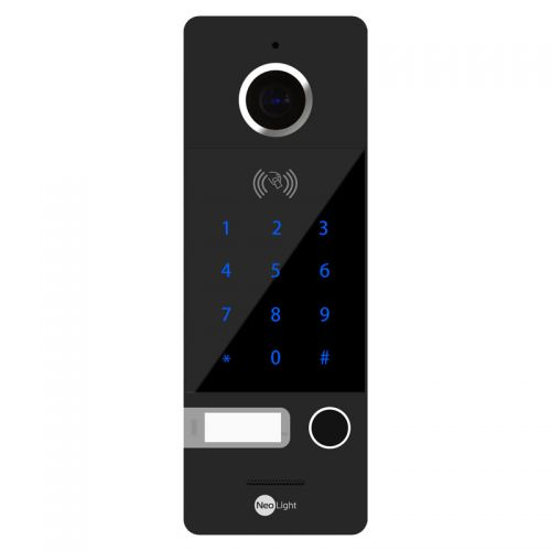 Вызывная видеопанель домофона NeoLight Optima ID KEY Black