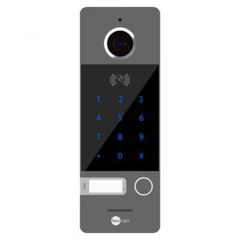 Вызывная видеопанель домофона NeoLight Optima ID KEY Grey