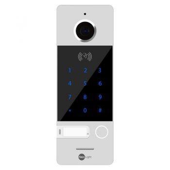 Вызывная видеопанель домофона NeoLight Optima ID KEY Silver